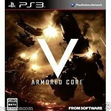 Used PS3 Armored Core V SONY PLAYSTATION 3 JAPAN JAPANESE JAPONAIS IMPORT