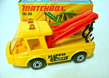 "Matchbox SF Nr. 74B Toe Joe gelb ""Hitch Hiker"" Aufkleber top in Box"