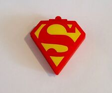 Minigz Superman Logo Usb Stick 32gb Memory Keyring Flash Drive Pc Computer Gift