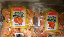 2 Bags Trader Joe's Soft & Juicy Mandarins/Mandarin Orange Dried Fruit 6oz@