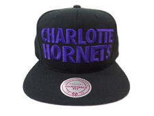 CHARLOTTE HORNETS NBA TITLE Mitchell and Ness Snapback Hat