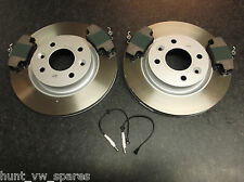 QUALITY RENAULT CLIO MK2 FRONT BRAKE DISCS & PADS 1998-2004 VENTED 259MM ABS