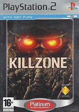 KILLZONE for Playstation 2 PS2 - with box & manual - Platinum