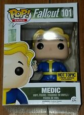 Funko Pop! Games Vault Boy Medic #101 Fallout Mystery LE Hot Topic Exclusive