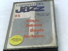 Giants of Jazz 95 - Hinies, Edison, Davis, Jackson - Cassette - SEALED