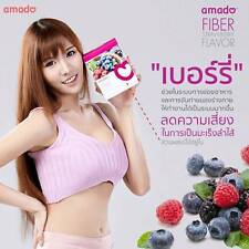 Detox Amado Fiber Ingredients Natural 100% Reduce weight reduce belly fat