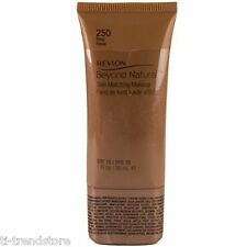 Revlon Beyond Natural Skin Matching Make up Foundation 250 Deep NEU