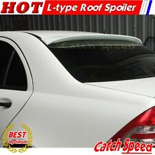 Painted L Style Roof Spoiler Wing For Mercedes Benz C-class W203 C240 C320 Sedan