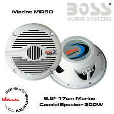"Boss Audio MR60 - 17cm 6.5"" Boat Maine Waterproof Speaker 400W Total Power"