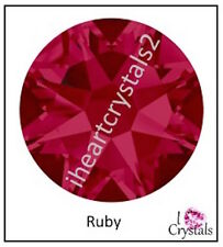 RUBY Pink Red Swarovski 16ss 4mm Crystal Flatback Rhinestones 2058 144 pcs