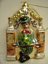 Blown Glass Christmas Ornament BOSTON MASS Famous City Ornament