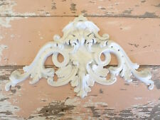 SHABBY n CHIC ARCHITECTURAL CREST FURNITURE APPLIQUES
