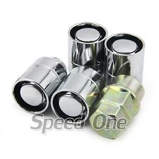 12*1.5 Steel Wheel Lug Lock Nuts Silver for Mitsubishi Eclipse Lancer 3000GT EVO