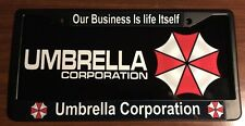Umbrella Corporation License Plate And Frame Combo
