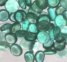 NEW DECORATIVE GLASS VASE PEBBLES STONES NUGGETS BLUE GREEN 350g UBL