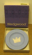 1977 Wedgewood THE QUEEN'S SILVER JUBILEE Round Sweet Dish PALE BLUE New!!