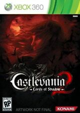Castlevania: Lords of Shadow 2 (Microsoft Xbox 360, 2014) Discs Only DISC 1/2