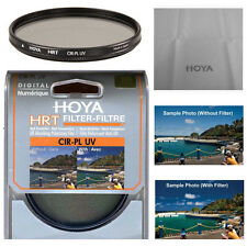 Hoya 52mm HRT Circular Polarizing / UV Haze Filter. U.S Authorized Dealer