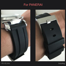 24 MM HQ RUBBER DIVER WATCH BAND 24MM STRAP FOR PANERAI
