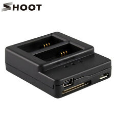 AHDBT-302 AHDBT-301 Battery Dual Charger USB&Micro USB Port f GoPro HD Hero 3 3+