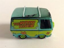 JOHNNY LIGHTNING HOLLYWOOD ON WHEELS CHROME GREEN ED. SCOOBY-DOO MYSTERY MACHINE