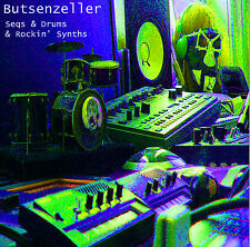 Butsenzeller - Seqs And Drums And Rocking Synths NEW Green Vinyl LP