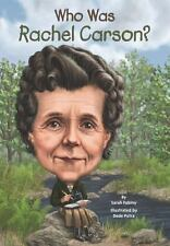 Who Was Rachel Carson? by Sarah Fabiny c2014, NEW Paperback, We Combine Shipping