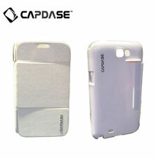 CAPDASE SAMSUNG Galaxy Note 2 GT-N7105 Sider Flip Folder Phone Case Jacket White