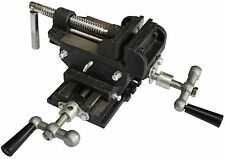 3'' 75m Vice Cross Slide Vise 2 Way Drill Press Clamp Milling Industrial Quality