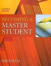 Becoming a Master Student Ellis, Dave Paperback