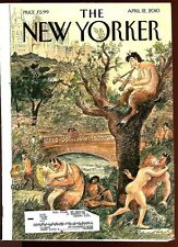 NEW YORKER MAGAZINE 2010 Lot of 3 Bly Spalding Means Loory Bolano Sorel