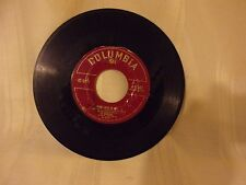 COLUMBIA 45 RECORD - JO STAFFORD - ADI-ADIOS-AMIGO -MAKE LOVE TO ME