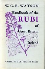 Watson, W C R HANDBOOK OF THE RUBI OF GREAT BRITAIN AND IRELAND 1958 Hardback BO