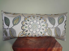 Decorative Pillow Cover Contemporary Pattern Pastel Cream Green Yellow Grey Blue