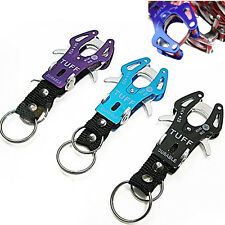 Delicate Climb Hook Carabiner Clip Lock Keyring Keychain Key Ring Chain Colorful