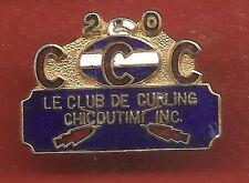 Pin's pin LE CLUB DE CURLING CHICOUTIMI INC. (ref CL04)