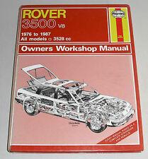 Reparaturanleitung Rover SD1 3500 V8, Baujahre 1976 - 1987