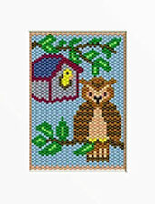 Hootie The Owl Beaded Banner Pattern