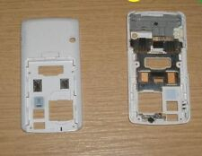 Genuine LG Chocolate KG800 Back Fascia Cover Housing Wh
