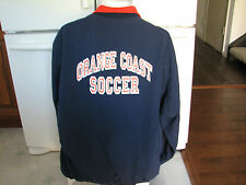 Orange Coast College men's Soccer Team jacket XL OCC Pirates