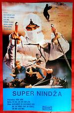 SUPER NINJA 1984 HONG KONG ALEXANDER LOU MARTIAL ARTS KUNG FU EXYU MOVIE POSTER