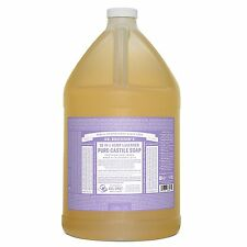 Dr. Bronners Pure-Castile Liquid Soap - Lavender, 1 Gallon