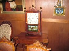 PILLAR AND SCROLL ELI TERRY & SON MANTLE CLOCK