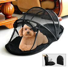 Folding Portable Mesh Dog Tent Fence Pet Puppy Camping Funhouse Exercise Bed Bag