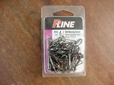 New P-Line BALL BEARING SWIVEL with HAWAIIAN SNAP 122lb Size 6 BBMCM 6+6 20/Pk