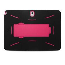 Samsung Galaxy Tab Pro 10.1 / T520/P600 Rugged Hybrid Case Cover Kickstand BK/PK
