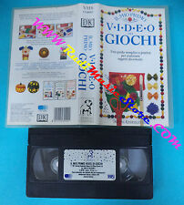 film VHS IL MIO PRIMO VIDEO DEI GIOCHI 1992 DORLING KINDERSLEY (F42) no dvd