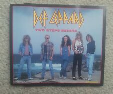 DEF LEPPARD TWO STEPS BEHIND GERMAN COLLECTORS EDITION MAXI CD 1993 RARE !
