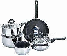 Teflon 5 un. Antiadherente inducción Cacerola Utensilios De Cocina Cocina Pan Set Pot