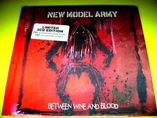 NEW MODEL ARMY - BETWEEN WINE AND BLOOD   LIMITED 2CD EDITION   OVP   111austria